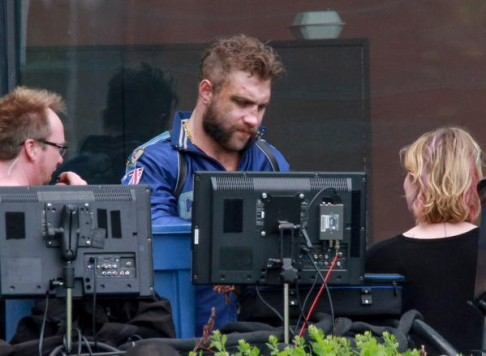 Jai Courtney Suicide Squad BTS