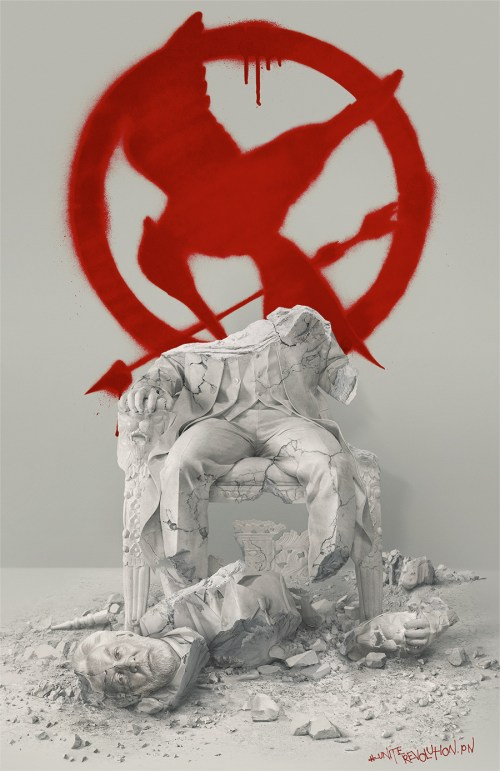 The Hunger Games Mockingjay Part 2 President Snow movie poster