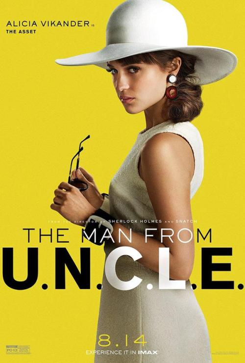 The Man From U.N.C.L.E. Character Posters