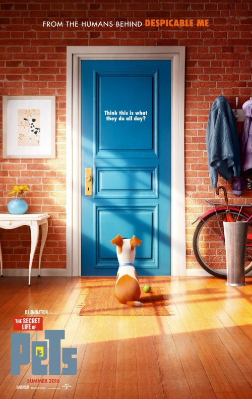 The Secret Lives of Pets Poster