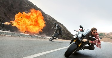 Tom Cruise in Mission Impossible - Rogue Nation