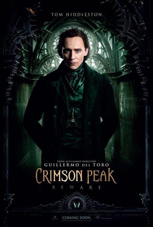 Tom Hiddleston Crimson Peak