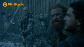Zachary Baharov Kit Harington Kristofer Hivju Game of Thrones Hardhome