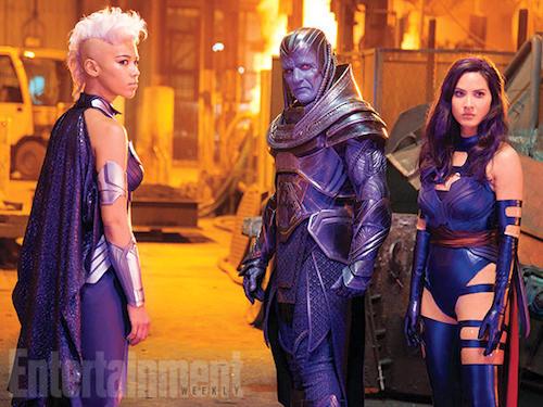 Alexandra Shipp Oscar Isaac Olivia Munn X-Men: Apocalypse