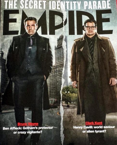 Batman v Superman Henry Cavill Ben Affleck