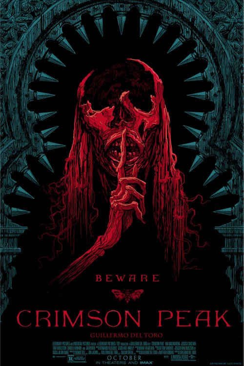 Crimson Peak Comic-Con Posters
