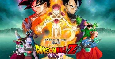 Dragon Ball Z Resurrection F Doragon Boru Zetto Fukkatsu no Efu movie poster