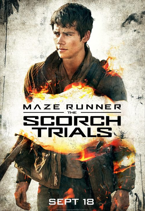 Dylan O'Brien Maze Runner The Scorch Trials poster