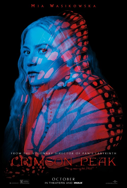 Four Brand-New Crimson Peak Character Posters
