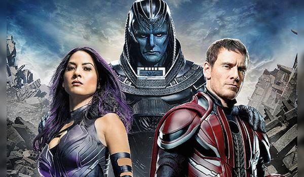 Olivia Munn Oscar Isaac Michael Fassbender X-Men: Apocalypse EW Cover