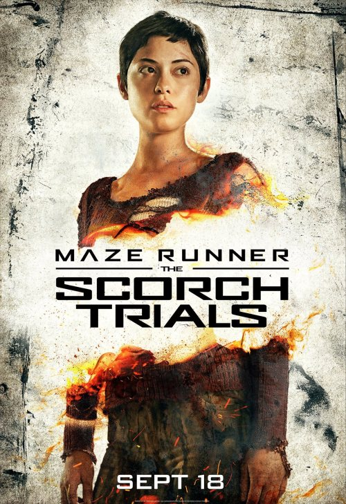 Rosa Salazar Maze Runner The Scorch Trials poster