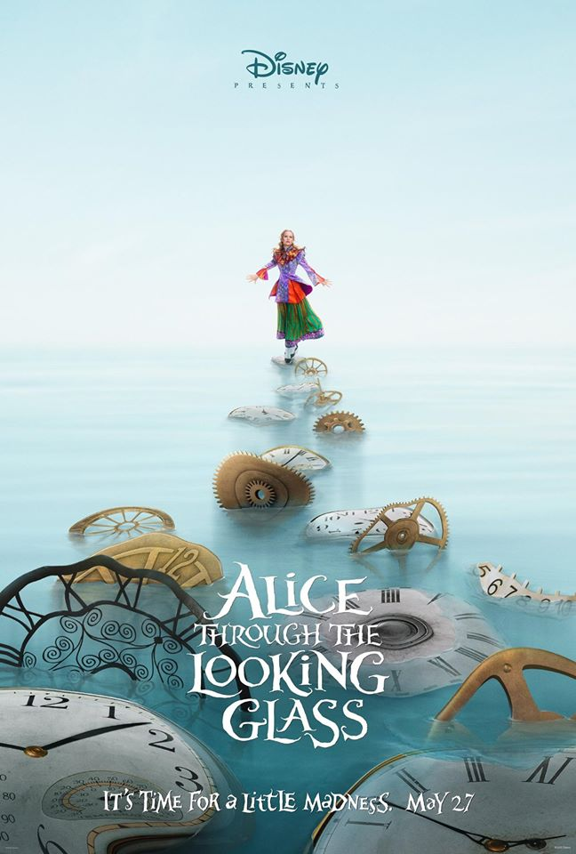 Alice Through The Looking Glass Poster 1
