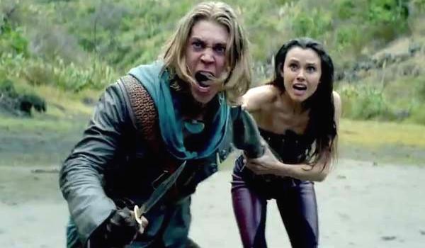 Austin Butler Poppy Drayton The Shannara Chronicles