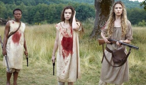 THE KEEPING ROOM (2014) Movie Trailer: Brit Marling Protects her ...