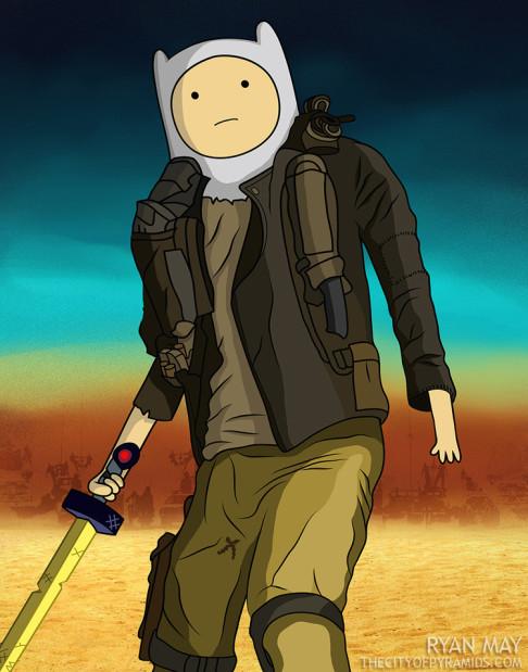 Finn Madventure Time