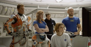Matt Damon Kate Mara Sebastian Stan Jessica Chastain The Martian
