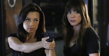 Ming-Na Wen Chloe Bennett Agents of SHIELD Ye Who Enter Here