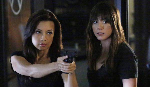 Ming-Na Wen Chloe Bennett Agents of SHIELD Ye Who Enter Here