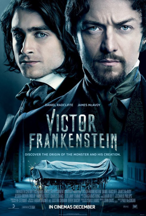 Victor Frankenstein UK Poster