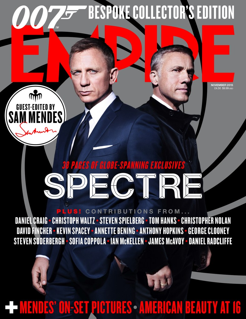 Spectre Empire Magazine Cover