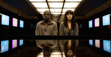 Daniel Kaluuya Jessica Brown Findlay Black Mirror Fifteen Million Merits