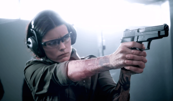 Jaimie Alexander Gun Range Handgun Blindspot