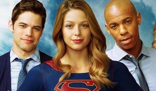 Jeremy Jordan Mehcad Brooks Melissa Benoist Supergirl