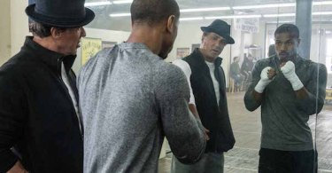 Michael B. Jordan Sylvester Stallone Creed