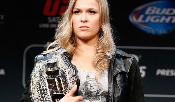 Ronda Rousey UFC Belt