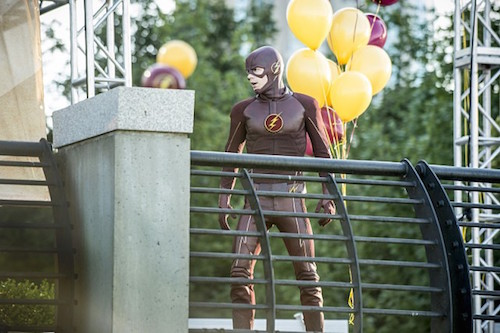 Grant Gustin The Flash The Man Who Saved Central City