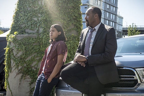 Carlos Valdes Jesse L. Martin The Flash The Man Who Saved Central City