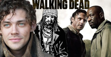 Tom Payne Paul Jesus Monroe The Walking Dead Season 6 TV Show Banner
