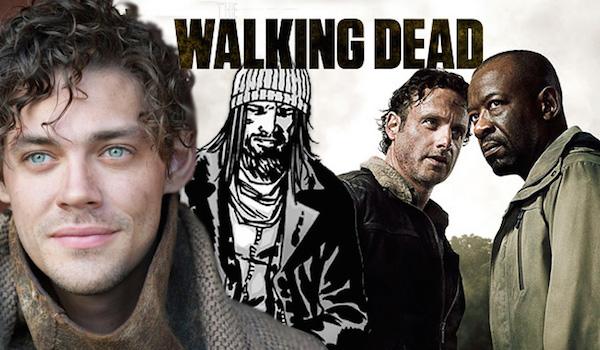 Tom Payne Paul Jesus Monroe The Walking Dead Season 6 TV Show Banner