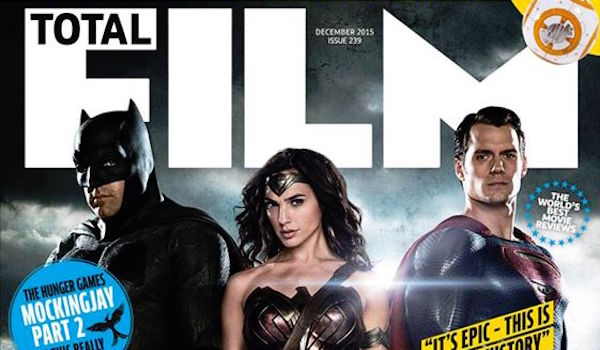 Batman v Superman Ben Affleck Gal Gadot Henry Cavill Total Film Cover