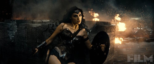 Batman v Superman Gal Gadot Total Film Photo