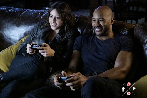 Chloe Bennet Henry Simmons Agents of SHIELD A Wanted Inhuman
