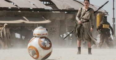 Daisy Ridley BB8 Star Wars The Force Awakens