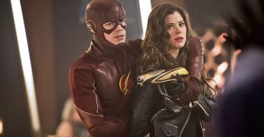 Grant Gustin Peyton List The Flash Rogue Time