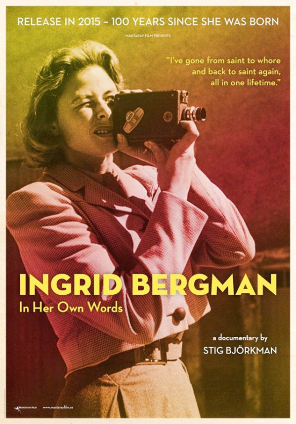 Ingrid Bergman In Her Own Words Poster