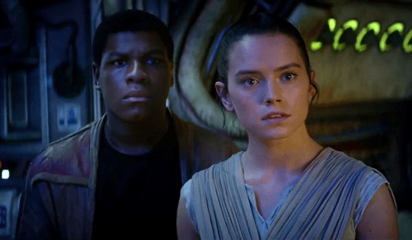 john Boyega Daisy Ridley Star Wars The Force Awaken