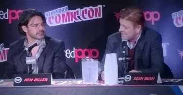 Ken Biller Sean Bean Legends NYCC 2015