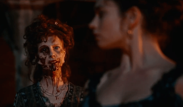 Lily James Pride and Prejudice and Zombies