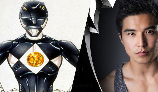 Ludi Lin Black Power Ranger
