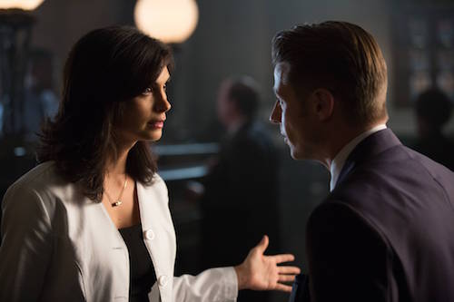 Morena Baccani Ben McKenzie Tonight's The Night Gotham