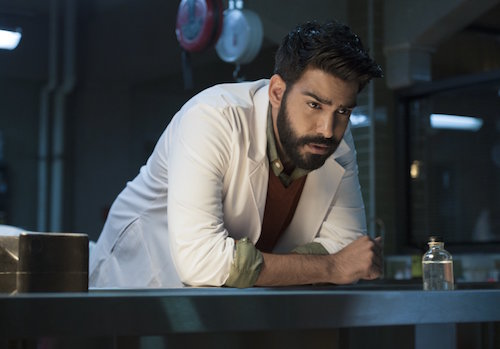 Rahul Kohli iZombie Love and Basketball