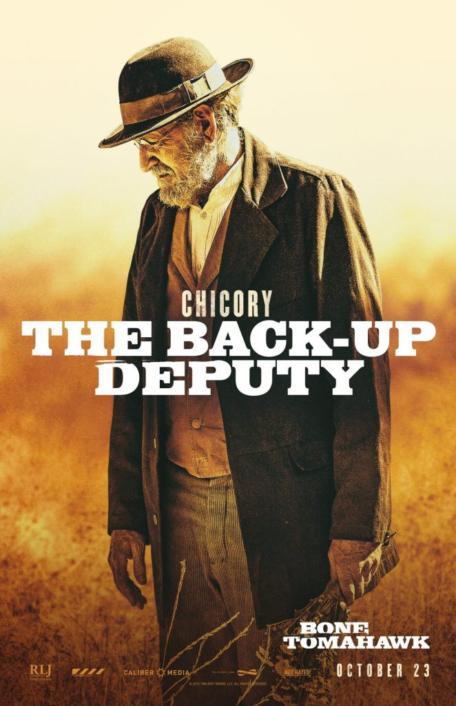 Richard Jenkins In Bone Tomahawk Poster