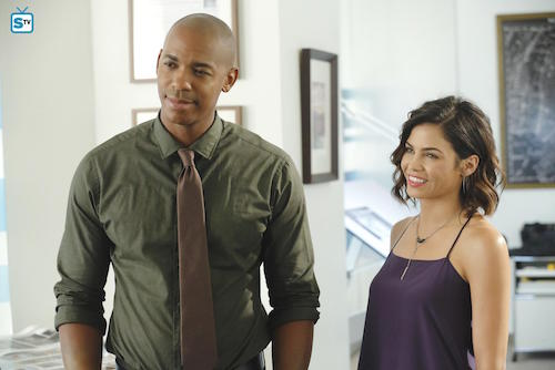 Supergirl Fight or Flight Mehcad Brooks Jenna Dewan-Tatum