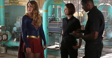 Supergirl Stronger Together Melissa Benoist Chyler Leigh David Harewood