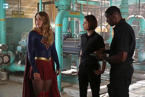 Supergirl Stronger Together Melissa Benoist Chyler Leigh David Harewood