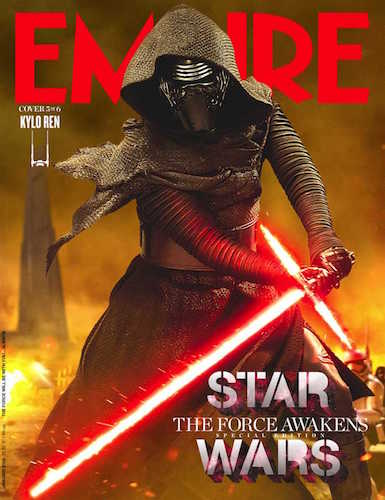 Adam Driver Star Wars The Force Awakens Empire Cover
